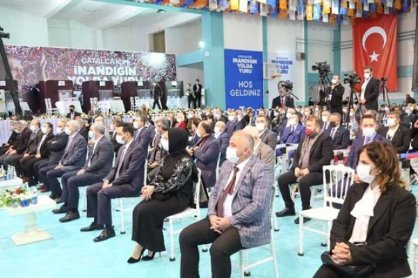 Çatalca'da CHP'den Ak Parti kongresine eleştiri
