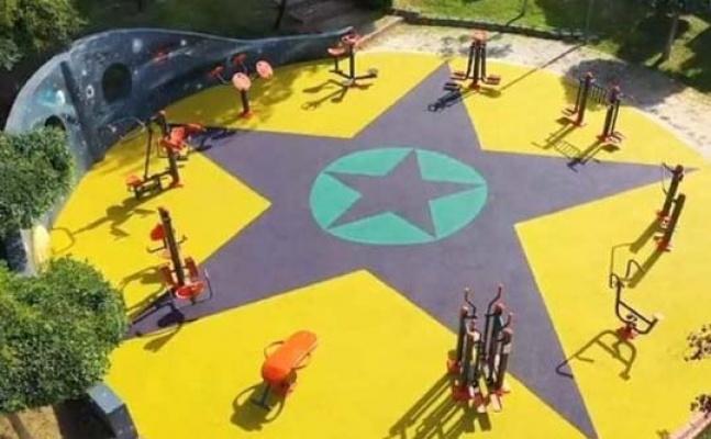 Parktaki tasarımlar kaldırıldı soruşturma başlatıldı