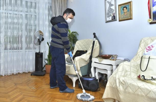 65 yaş üzerine evde temizlik hizmeti
