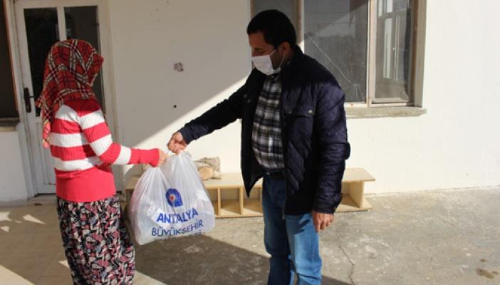 Antalya Büyükşehir'in çölyaklılara destek
