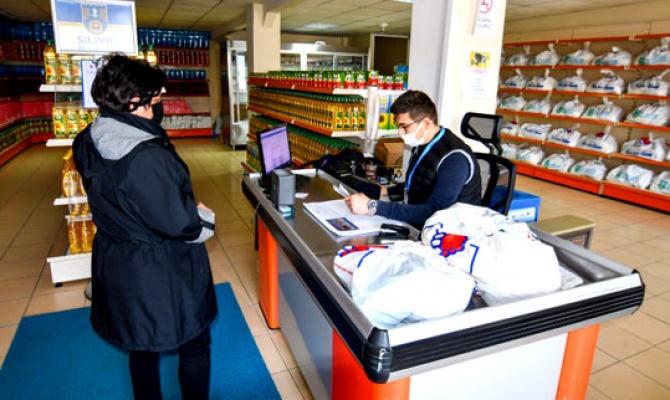 Silivri'nin dayanışma kapısı: Sosyal Market