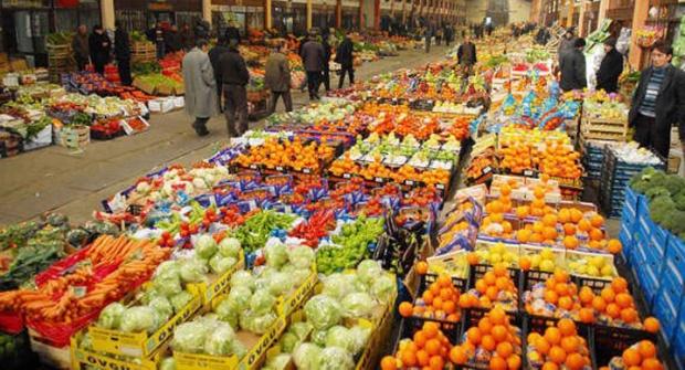 Antalya Hallerinde ürün azalıyor, fiyat artıyor