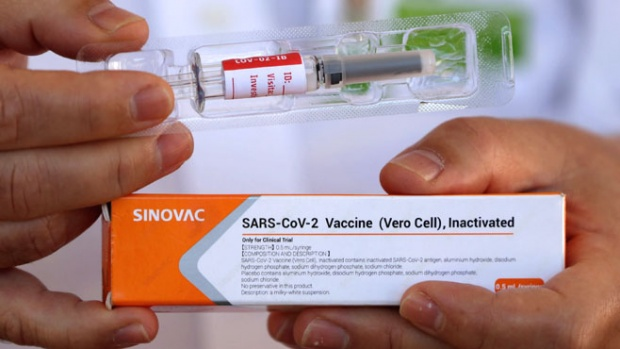 Çin Sinovac Aşısı Brezilya'da yüzde 78 etkinlik gösterdi