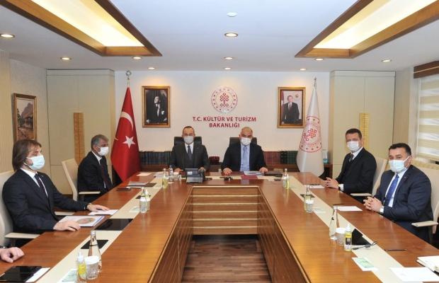 Ankara'da Alanya zirvesi