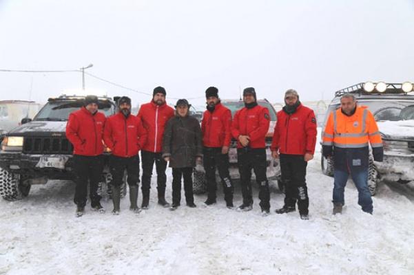 Büyükçekmece'de Kar Timleri Teyakkuza Geçti