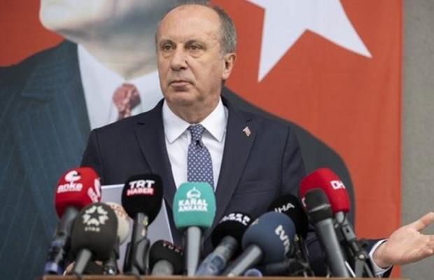 İnce CHP'den istifasını açıkladı