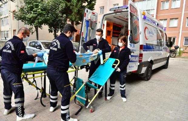 Pandemide ücretsiz hasta nakil hizmeti