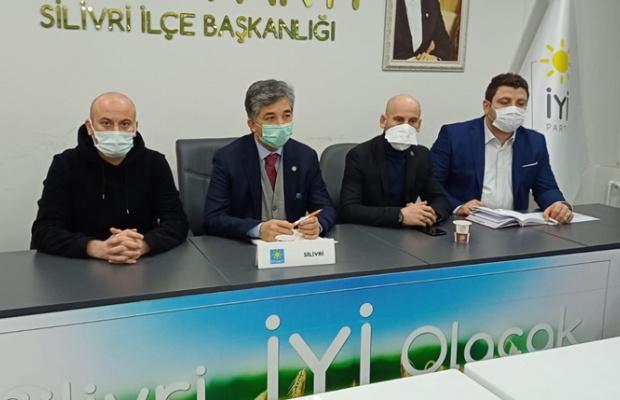 Silivri İYİ Parti'de mahalle toplantıları başladı