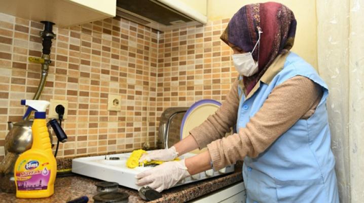 Esenyurt Belediyesi'nden evde temizlik