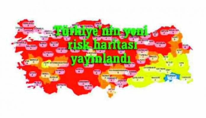 Maalesef Türkiye kırmızıya döndü