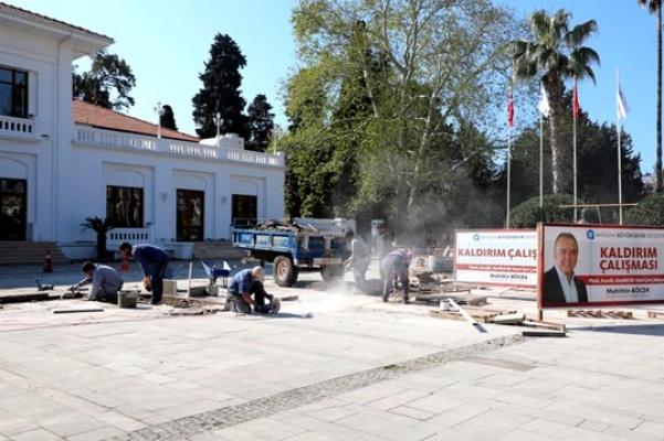Antalya Kaleiçi'nde çevre düzenlemesi
