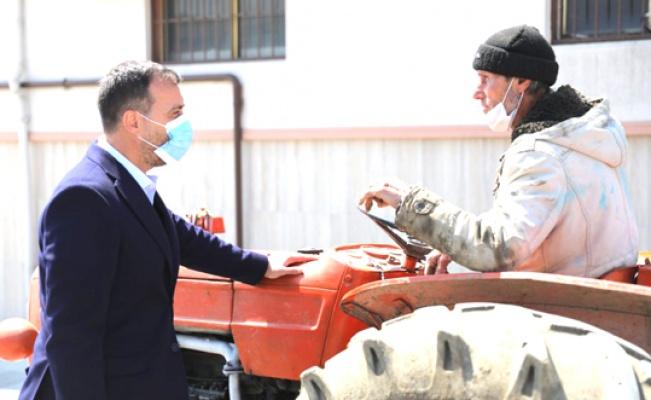 Başkan Yılmaz Gazitepe'de