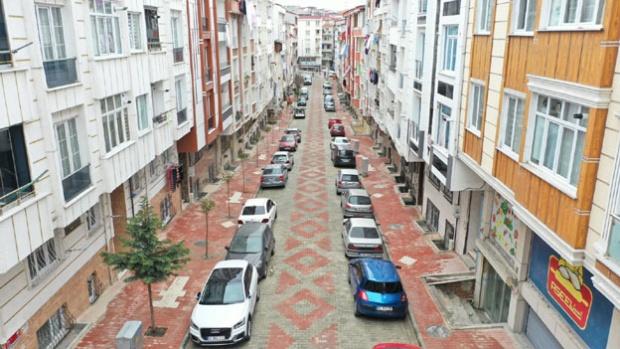 Esenyurt sokaklarında dönüşüm sürüyor