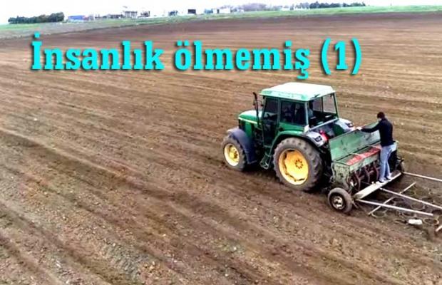 18 dönüm araziye ektikleri soğanları ihtiyaç sahibi vatandaşlara dağıtacaklar