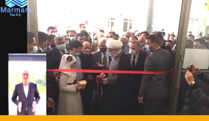 Orakçı'nın Irak'ta yaptığı  tesis açıldı