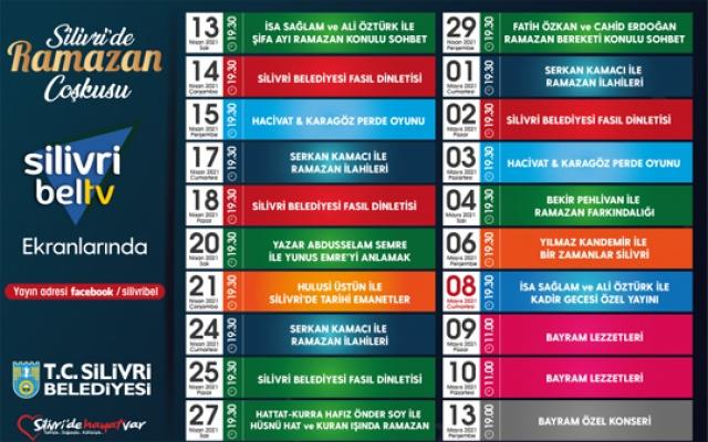 Silivri BelTV'de ramazan coşkusu