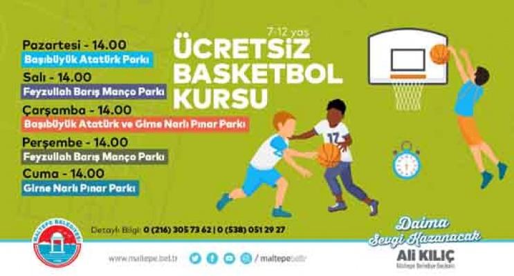 Maltepe'de her yaş için spor