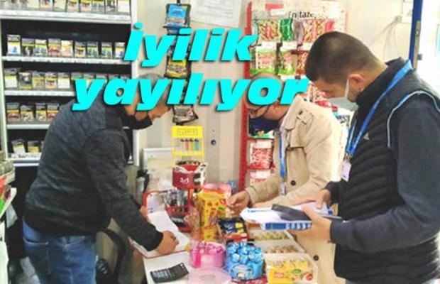 Silivri'de 17 köyde veresiye defterleri silindi