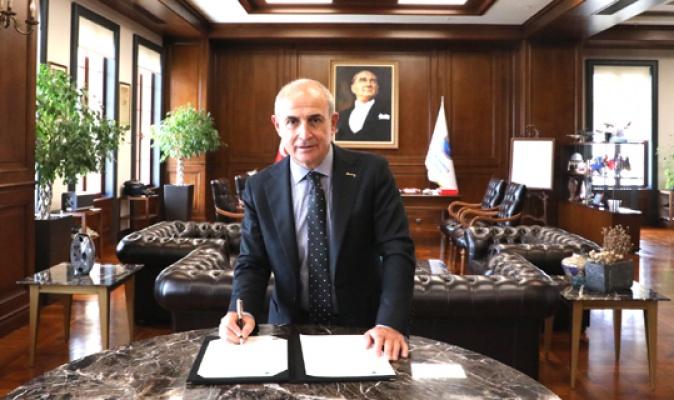 Akgün AB Başkanları Sözleşmesini imzaladı