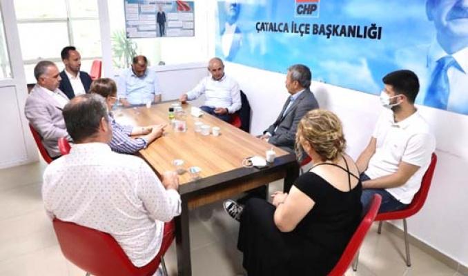 Akgün'den Çatalca CHP ve İYİ Parti'ye ziyaret