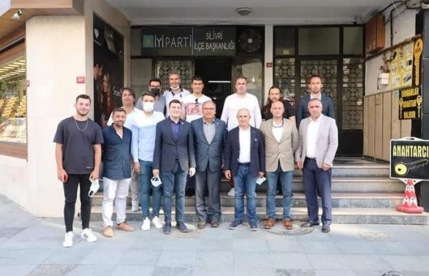 Akgün'den Silivri CHP ve İYİ Parti'ye ziyaret