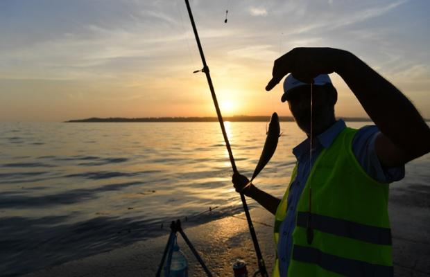 Balıkçılar Beylikdüzü'nde yarıştı