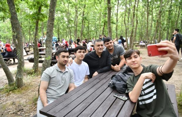Başkan Bozkurt'tan öğrencilere moral destek