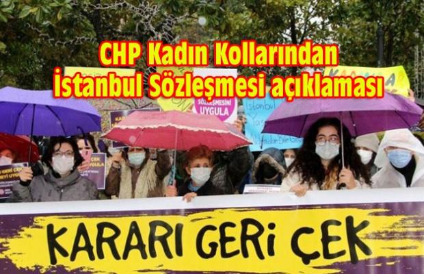 CHP'li kadınlar:VAZGEÇMİYORUZ!