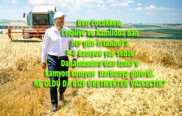 Çiftçi yeniden milletin efendisi olmalı