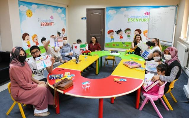 Özel Eğitim Merkezi'nden ailelere destek