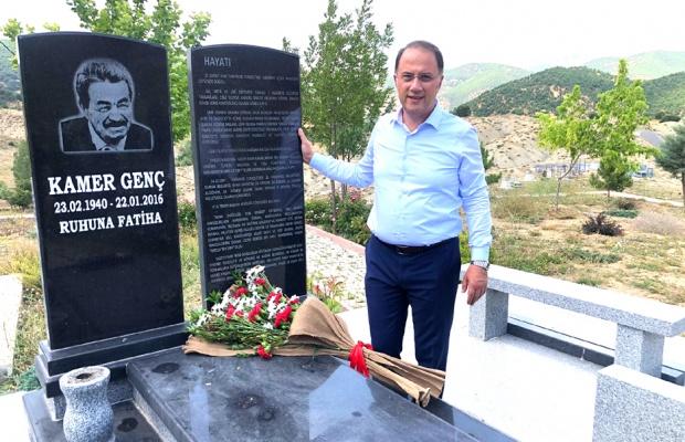 Başkan Çalık Tunceli'de