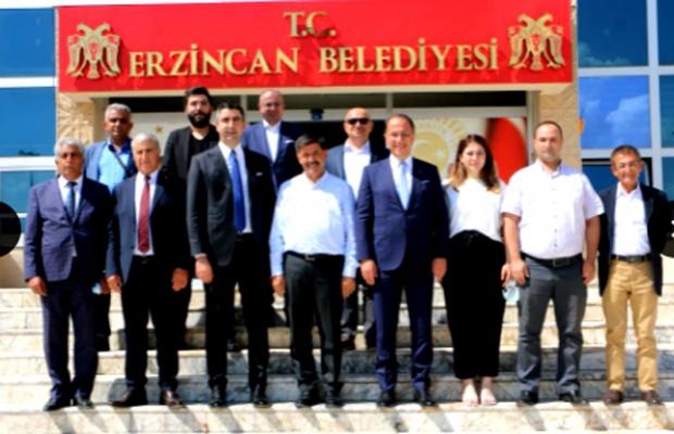 Başkan Çalık ve Yüksel Erzincan'da
