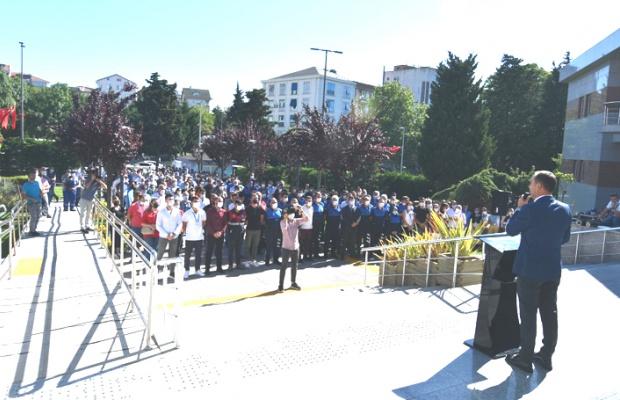 Başkan Yılmaz personel ile bayramlaştı