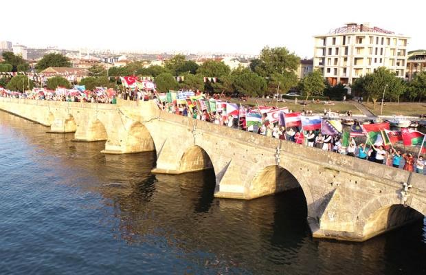 Büyükçekmece'de renkli festival