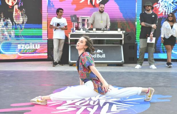 Dansçılar Yaşam Vadisi'nde yarıştı
