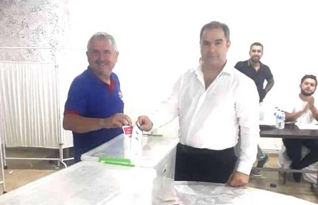 Silivrispor'da Akgün Duru yeniden başkan