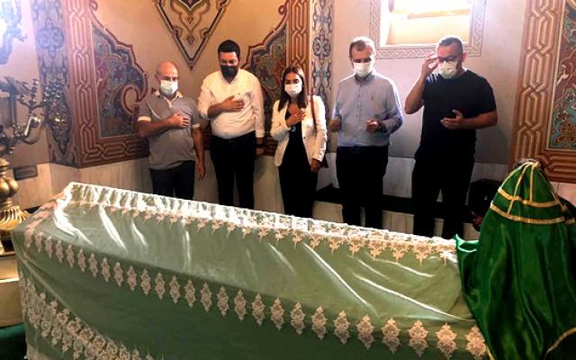 Akgün Hacı Bektaş törenlerinde
