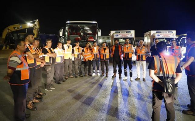 Büyükçekmece Belediyesi ekipleri Manavgat'ta