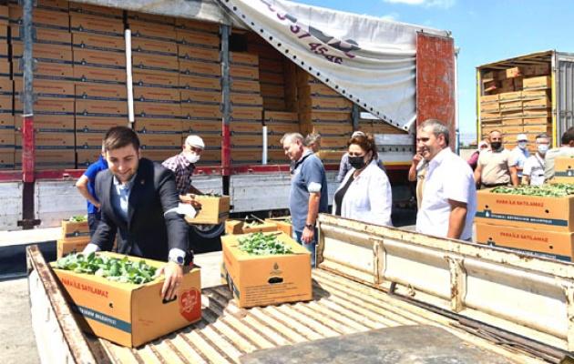 İBB'den Silivri'de çiftçilere yem desteği