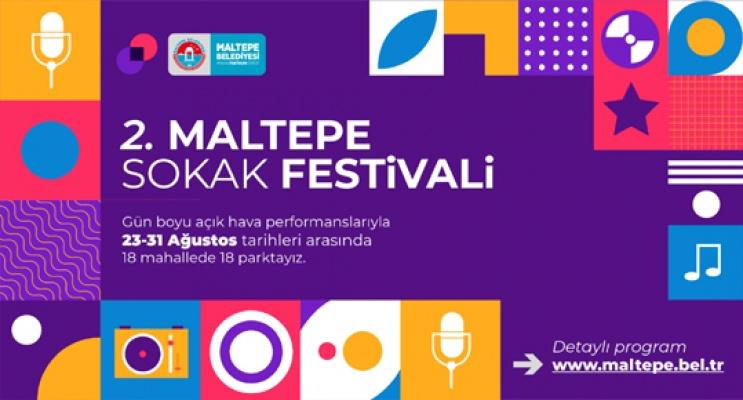 Maltepe'de Festival zamanı