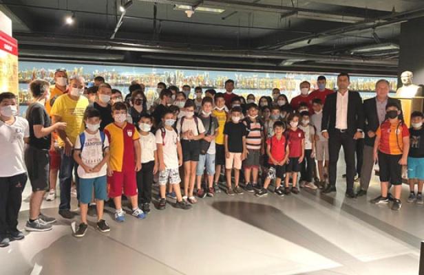 Maltepeli Çocuklar Galatasaray'da