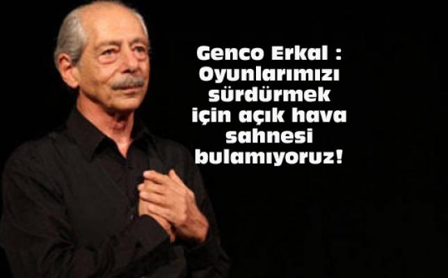 Başkan Mehmet Murat Çalık'tan Sanatçı Genco Erkal'a Beylikdüzü daveti