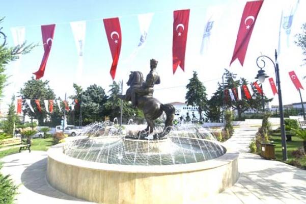 Silivri'de Atatürk Parkı hizmete girdi