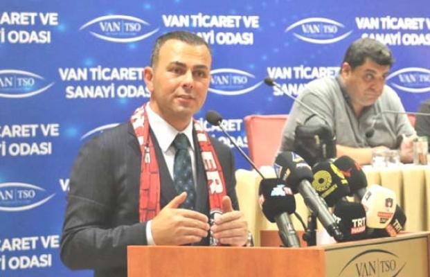 Vanspor Başkanlığı'na Seyithan İzsiz seçildi