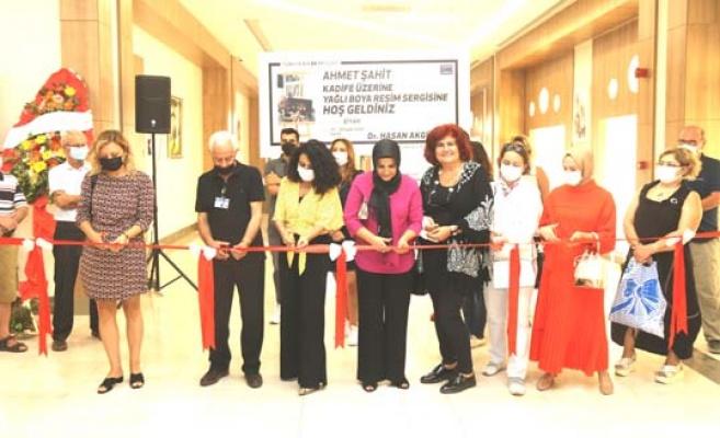 Ahmet Şahit'ten Büyükçekmece'de sergi