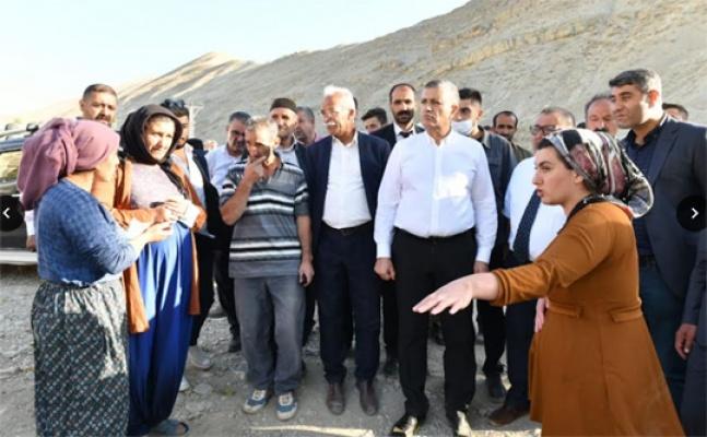 Başkan Bozkurt Selzedeler için Van'da