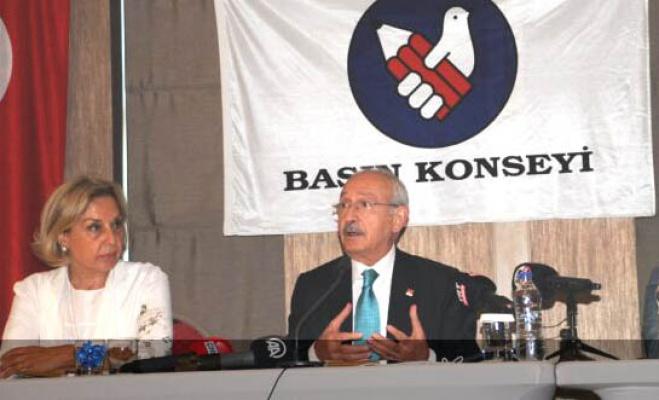 Kılıçdaroğlu: Medyanın 9 temel sorunu var hepsini çözeceğiz