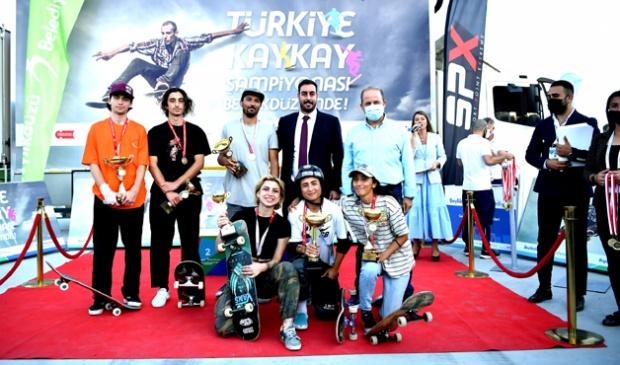 Nalçacı ve Ayhan Kaykay şampiyonu