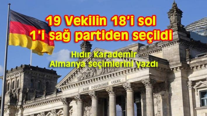 TÜRKİYE KÖKENLİ 19 MİLLETVEKİLİ ALMAN PARLAMENTOSUNA SEÇİLDİ