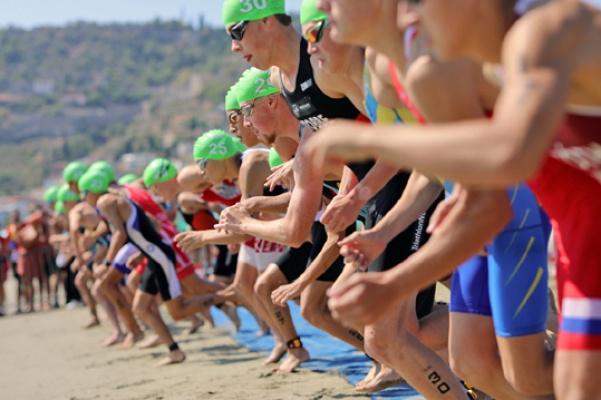 Alanya Triatlonu, rekor katılımla tamamlandı